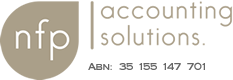 Logo NFP Accounting Solutions Pty Ltd